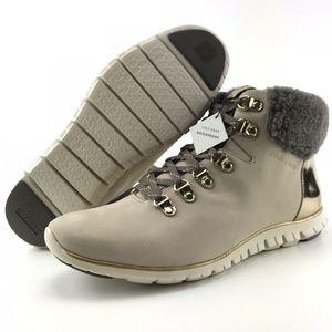Cole Haan Zerogrand Waterproof Nubuck Hiker Boots